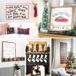 Rustic Diy Christmas Wood Signs My Nourished Home