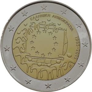 2 euro jubileumsmynt Grekland