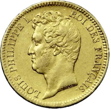 20 Francs or Louis-Philippe