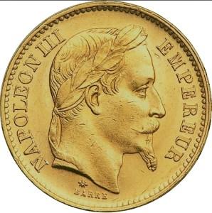 20 francs Napoleon III
