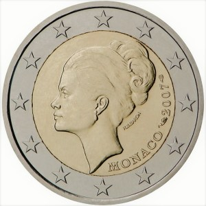 2 euros grace kelly