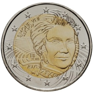 2 euro Simone Veil