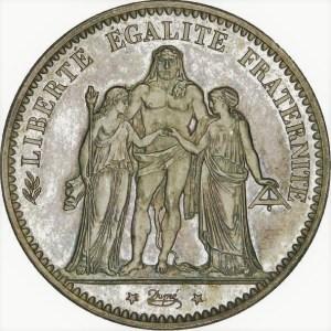 5 Francs Herkules