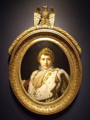 Francens ursprung Napoleon Inapoleon-bonaparte-porträtt