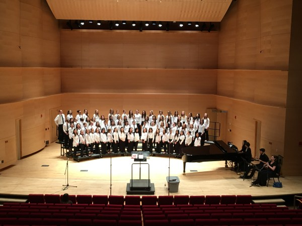 Nassau Treble and Concert Choirs at AUPAC - The ...