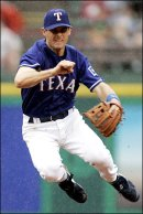 Michael Young will man thrid base for Texas in 2009