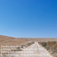 You Are Here, Now. 1/14 in the Walking With Angels Collection, by Melanie Gow.