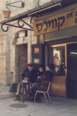 Kosher Coffee, Jerusalem, 1984, Israel, Melanie Gow, www.myofficetoday.co.uk