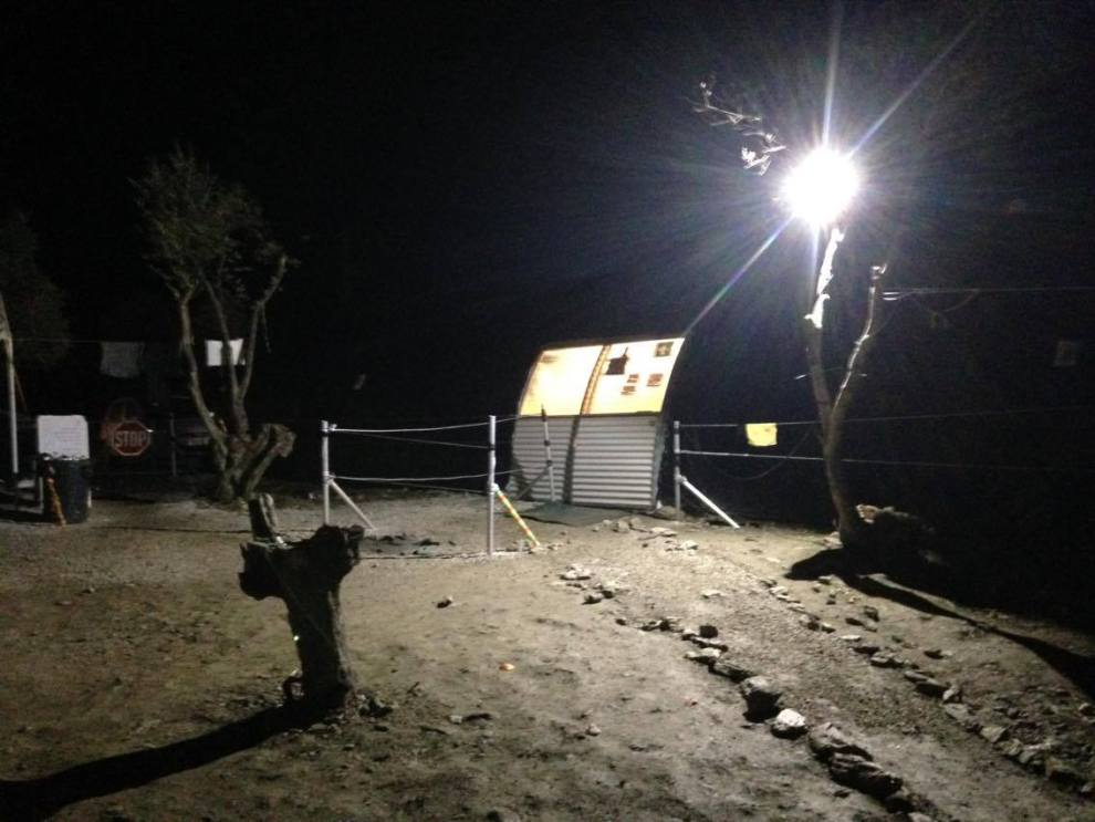 Moria Camp, Lesvos, January 2016, Benjamin Gow