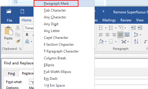 Remove Redundant White Spaces & Blank Lines Quickly in Word 2016