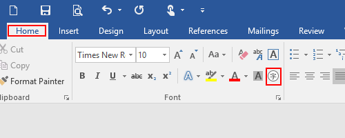 How to Type a Number with Circle in Word