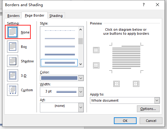 How to Add Page Borders in Word 2016