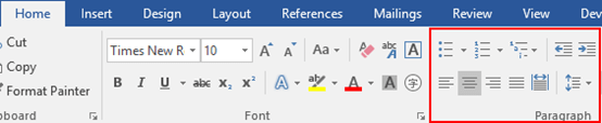 How to Set the Page Footer in Word