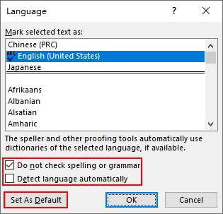 How to Remove All the Wavy Lines Under Text in Word