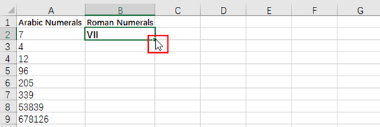 How to Convert Arabic Numerals to Roman Numerals in Microsoft Excel