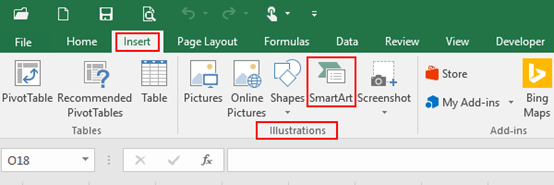 How to Create a Horizontal Bullet List in Excel