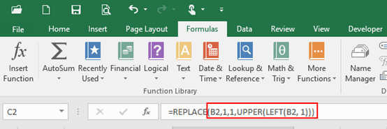 How to Capitalize the First Letter in Microsoft Excel