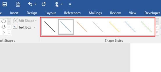 How to Insert a Custom Slash Header in Microsoft Word