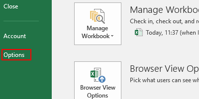 How to Change the Default Save Location in Microsoft Excel