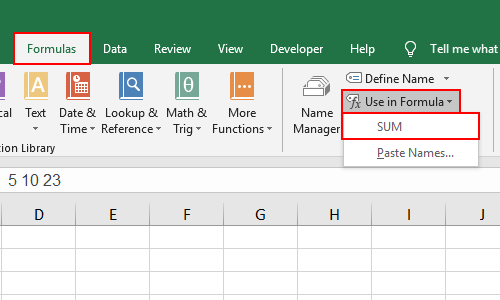 How to Calculate the Data in the Same Cell with Excel Formula