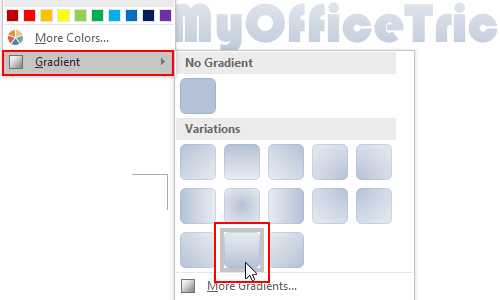How to Add Gradient Color to Text in Microsoft Word