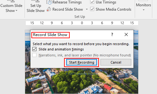 How to Record Slide Shows in PowerPoint