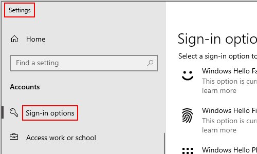 How to Change the Sign-in Password of Your Computer in Win 10