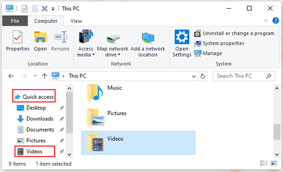 How to Pin Folders to Quick Access in Windows 10