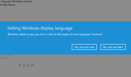 How to Change System Display Language in Windows 10