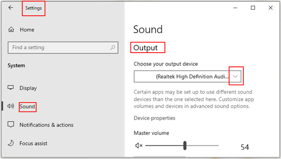 How to Change Default Output Device on Windows 10