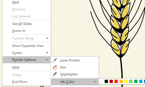 How to Mark Up a Slide in Microsoft PowerPoint