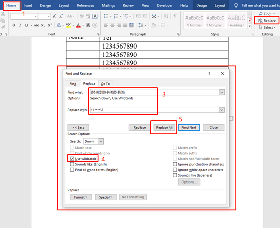 How to Hide Personal Info in a Word Document?