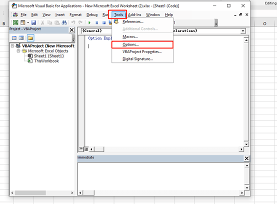 How to Customize the VBA Editor in Excel