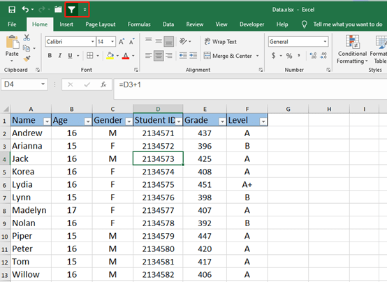 Excel Tips and Tricks of Filter Function