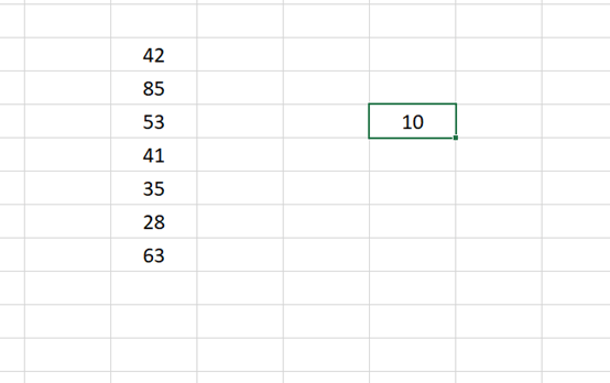 How Do I Add 10 To All The Cells in Excel