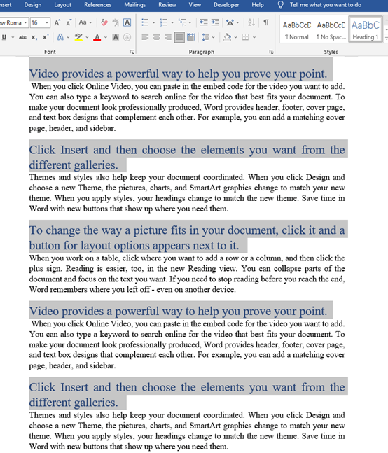 How To Batch Modify The Format Of Headings In Word