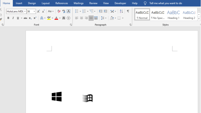 How To Quickly Get The Windows Symbol