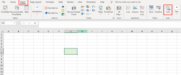 Four Ways to Insert Hyperlinks Quickly in Excel