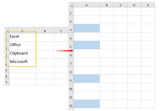 How To Use Clipboard To Copy And Paste Multiple Items In Excel