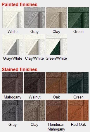 Garage Door Paint Colors | Garage Door Painting Tips ... on Garage Door Colors  id=72755