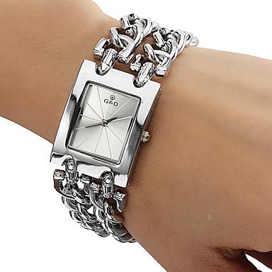 Square Radial Pattern Dial Bracelet Watch