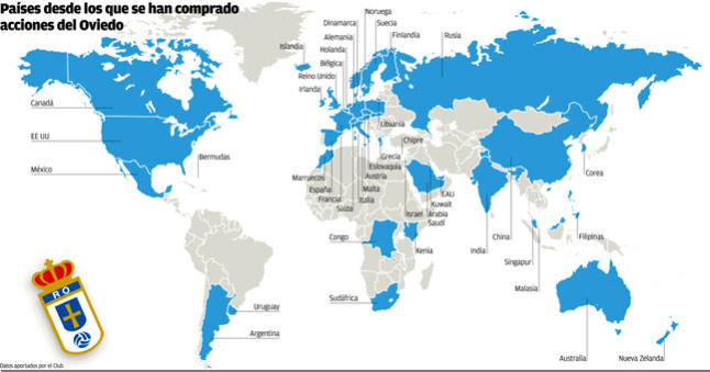 Global Real Oviedo share holders