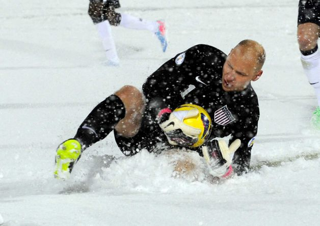 Guzan on Snow Patrol