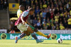 Gabby's slide-rule finish pretty much secures Villa's survival