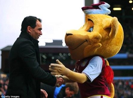 martinez+aston+villa+mascot