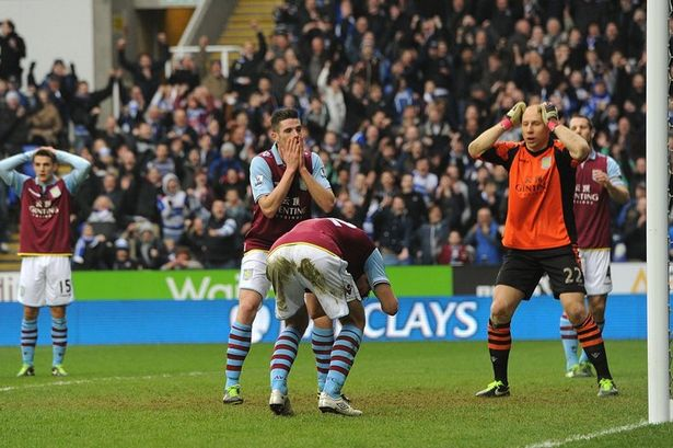 aston villa supporter moans
