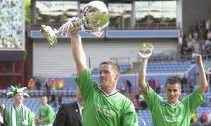 Shaun Teale manager cup winner Villa Park