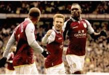 aston villa attacking midfielder