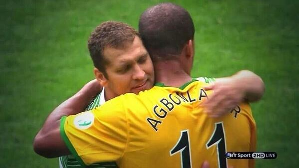 gabby agbonlahor death threat stiliyan petrov tribute