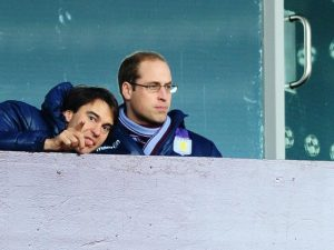 prince william bored at villa park